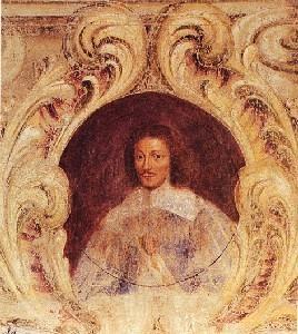 Ritratto di Carlo I Gonzaga-Nevers. Mantova, Palazzo Ducale