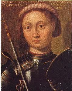 Ritratto di Francesco I Gonzaga. Innsbruck, collezione del castello di Ambras.