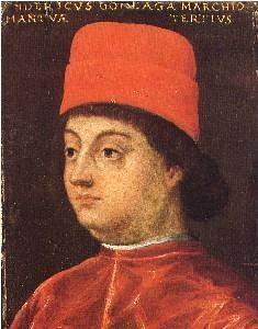 Ritratto di Federico I Gonzaga. Innsbruck, collezione del castello di Ambras.