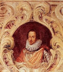 Ritratto di Ferdinando Gonzaga. Mantova, Palazzo Ducale