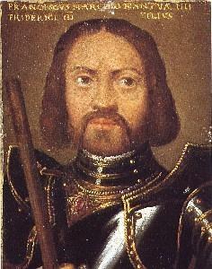 Ritratto di Francesco II Gonzaga. Innsbruck, collezione del castello di Ambras.