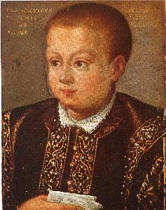 Ritratto di Francesco III Gonzaga. Innsbruck, collezione del castello di Ambras.