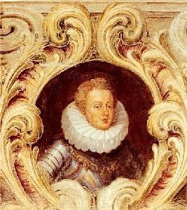 Ritratto di Francesco IV Gonzaga. Mantova, Palazzo Ducale.