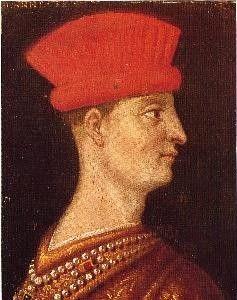 Ritratto di Gianfrancesco Gonzaga. Innsbruck, collezione del castello di Ambras.