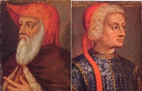 Ritratto di Luigi e di Guido Gonzaga. Innsbruck, collezione del castello di Ambras.