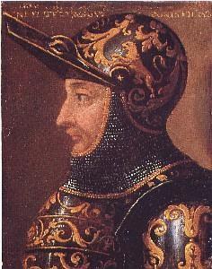 Ritratto di Ludovico I Gonzaga. Innsbruck, collezione del castello di Ambras.