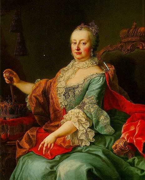 Ritratto di Maria Teresa d'Asburgo