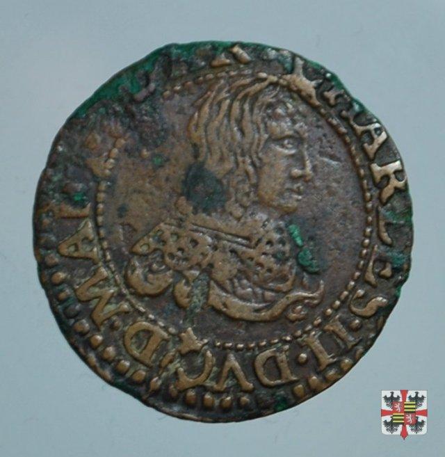 Double tournois con i gigli 1641 (Charleville)