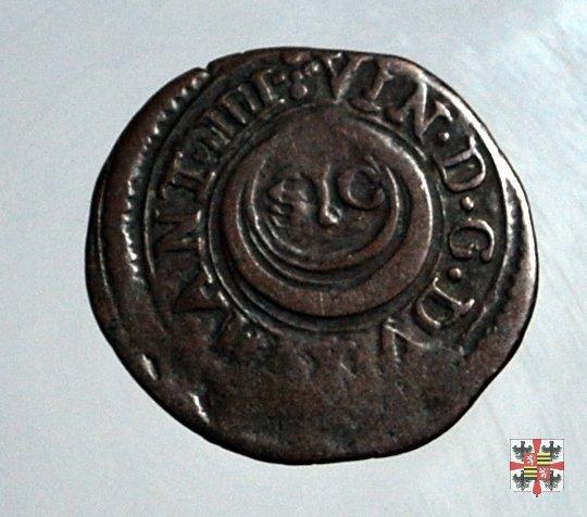 Quattrino con motto SIC e due C accostate  (Mantova)