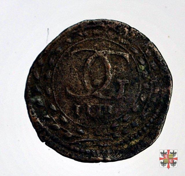Quattro soldi con monogramma C G 1629-1630 (Mantova)