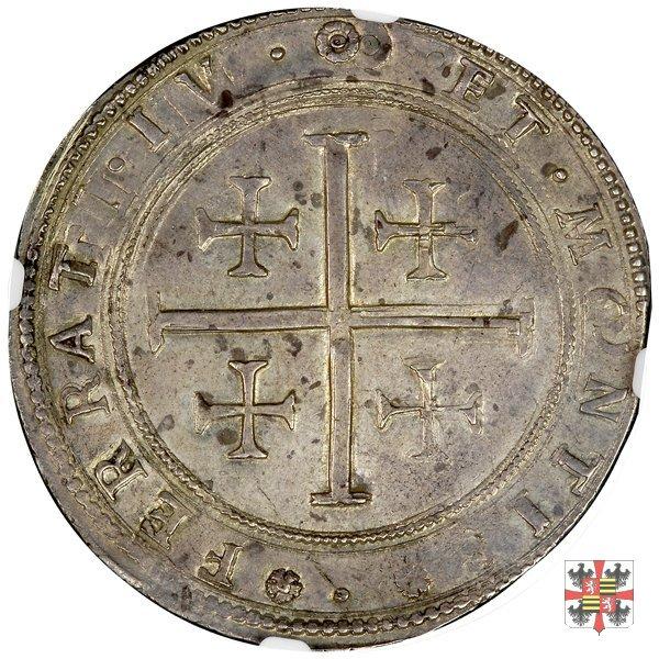 Tallero con la croce di Gerusalemme  (Mantova)