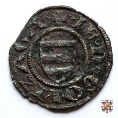 Quattrino con scudo Gonzaga e Virgilio  (Mantova)