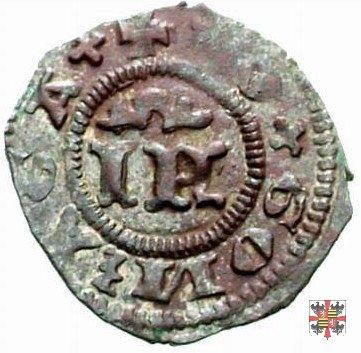 Bagattino con lettere IF e VI  (Mantova)