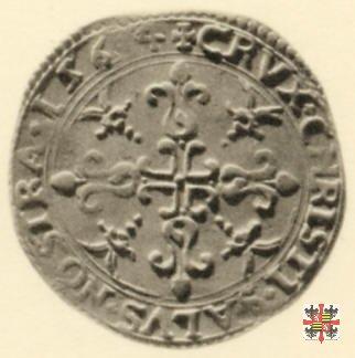 Bianco con la croce ornata 1564 (Casale)