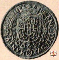 Da quattro reali con la Beata Vergine 1612 (Casale)