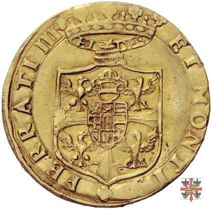 Doppia con lo stemma 1612 (Mantova)