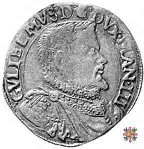 Doppia con lo stemma e busto a d. 1582 (Casale)