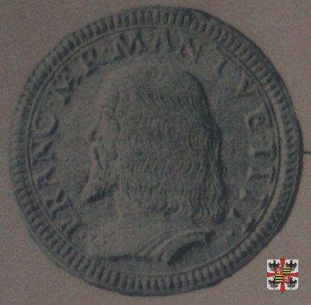 Doppio testone con il crogiuolo  (Mantova)