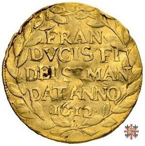 Ducato d'oro con la stella cometa 1612 (Mantova)