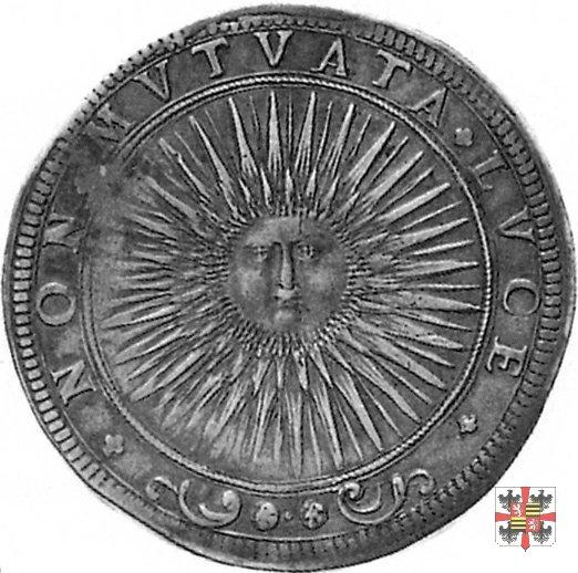 Ducatone con il sole raggiante 1617 (Mantova)