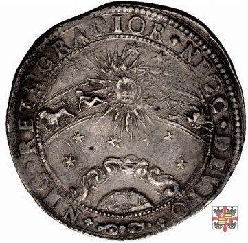 Ducatone con lo zodiaco 1631 (Mantova)