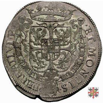 Scudo ossidionale con lo stemma 1628 (Casale)