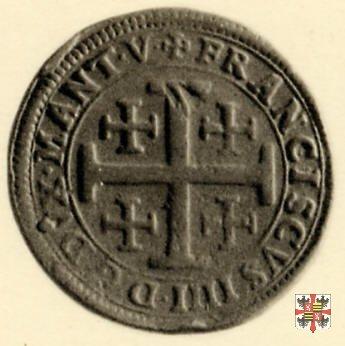 Due doppie con la croce di Gerusalemme 1612 (Casale)