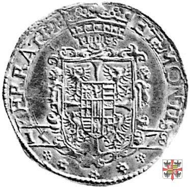 Due doppie con lo stemma 1578 (Casale)