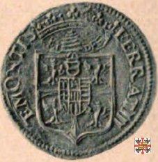 Due doppie con lo stemma 1612 (Mantova)
