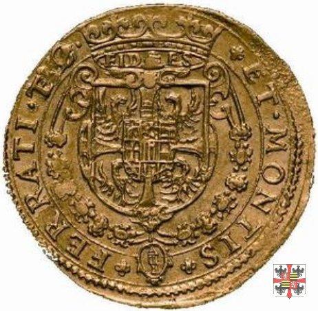 Due doppie con lo stemma 1629 (Mantova)