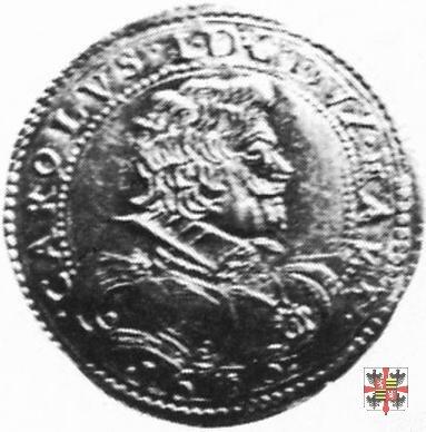 Due doppie con lo stemma 1636 (Mantova)