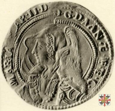 Due doppie con lo stemma  (Mantova)