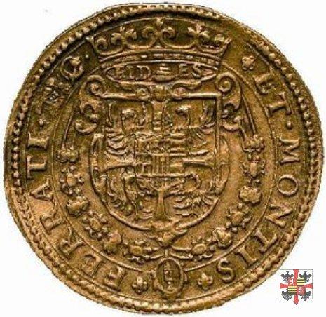 Due doppie con lo stemma e busto a d. (Mantova)  (Mantova)