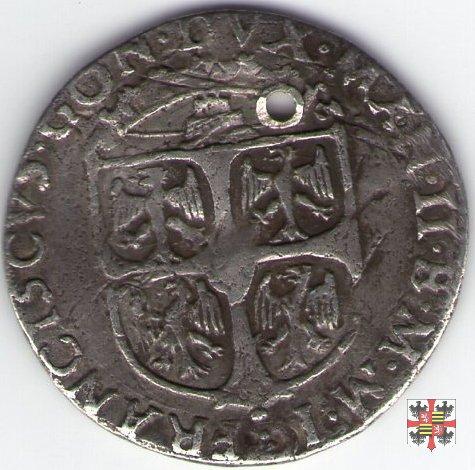 Giulio con lo stemma e con San Longino e S.Andrea  (Mantova)