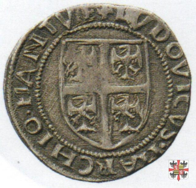 Grossone con il reliquiario e lo stemma  (Mantova)