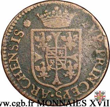 Liard testa nuda 1608 (Charleville)