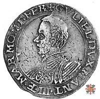 Lira con la Giustizia e busto a s. 1567 (Casale)