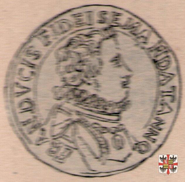 Lira (tessera) col puledro e la lancia  (Mantova)