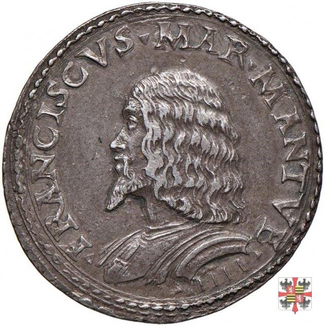 Medaglia con NON IGNARA MALI  (Mantova)