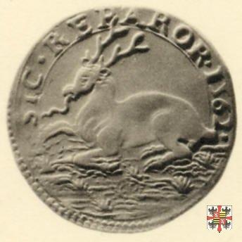 Mezza lira con il cervo 1562 (Casale)