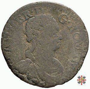 Mezza lira da dieci soldi 1755 (Mantova)