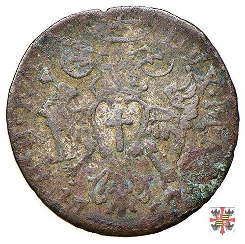Mezza lira da dieci soldi 1757 (Mantova)