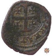 Mezzo bianco o grosso con croce di Gerusalemme  (Casale)
