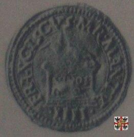 Mezzo ducato con l'ara e la Vergine  (Mantova)