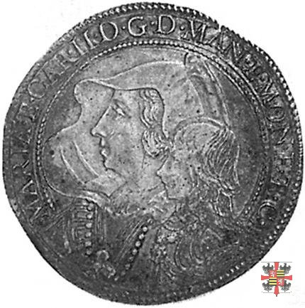 Mezzo ducatone con la Madonna delle Grazie  (Mantova)