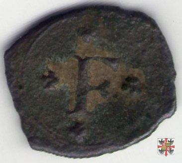 Mezzo quattrino con la croce di Gerusalemme  (Mantova)