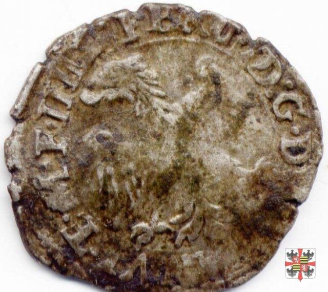 Parpagliola o cavallotto con San Francesco 1616 (Casale)