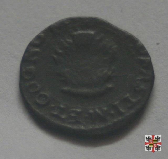 Quattrino con il crogiuolo  (Mantova)