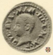 Quattrino con il reliquiario  (Mantova)