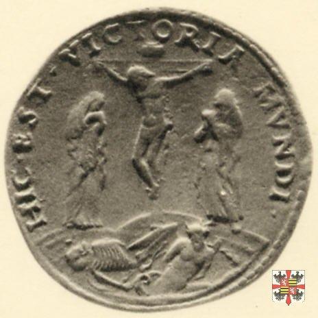Scudo con la scena della Crocifissione  (Mantova)